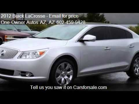 2012 Buick LaCrosse 4dr Sdn Premium 2 FWD - for sale in Peor
