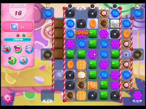 Candy Crush Saga Level 3729 - NO BOOSTERS