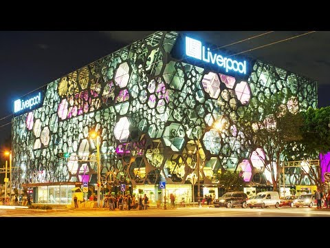 """Shopping in Mexico: Glitzy Department Store """"Liverpool"""""""