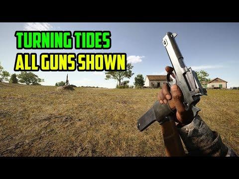 All Guns Shown - Battlefield 1: Turning Tides DLC
