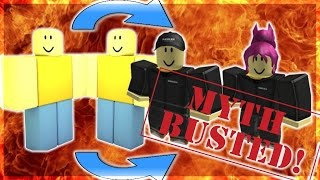 ROBLOX SPEAKS OUT ABOUT JOHN DOE! THE NEW JOHN AND JANE DOE TRANSFORMED!