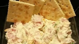 A QUICK & EASY PARTY DIP / MY FAMILY'S PRE-THANKSGIVING FEAST