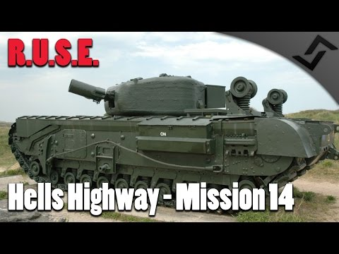 R.U.S.E. - Hell's Highway - Mission 14