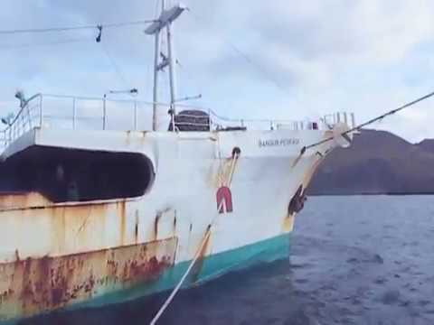 Illegal Fishing Vessel in Dutch Harbor, Alaska