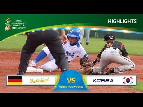 Highlights: Germany v Australia - WBSC - U-12 Baseball World Cup 2017