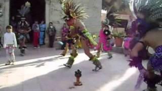 danza azteca AGUILA IMPERIAL el xochipilli