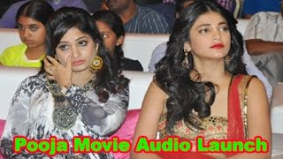 Pooja Movie Audio Launch || Vishal || Shruti Haasan || 01
