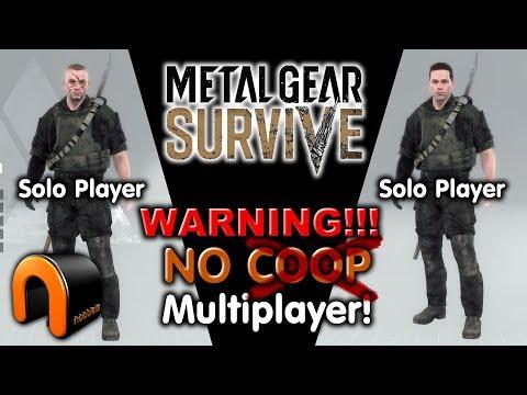 Metal Gear Survive - WARNING! NO COOP MULTIPLAYER!