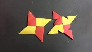 how to make a paper ninja star step by step (tutorial) origami shuriken