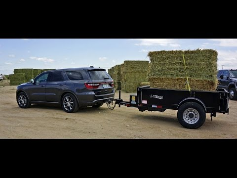 MrTruck reviews 2014 Dodge Durango, towing Cimarron horse ...