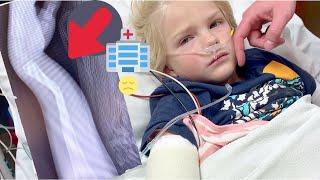 😪EMOTIONAL EMERGENCY VISIT | SEVERE BROKEN ARM | BOTH ARM BONES BROKEN