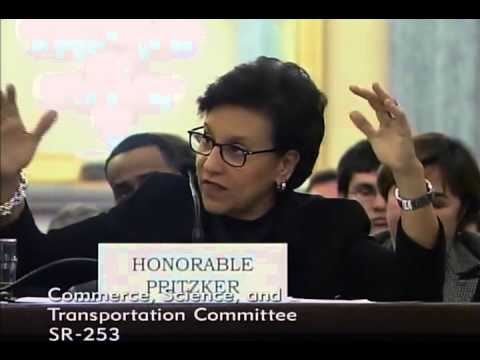 Sen. Ted Cruz Q&A with Commerce Secretary Penny Pritzker in Senate Commerce Committee
