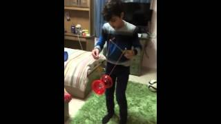 How to make a trampoline on the diabolo tutorial