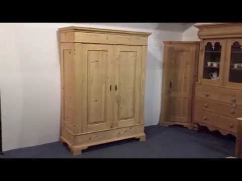19th Century Antique Wardrobe - Pinefinders Old Pine Furniture Warehouse