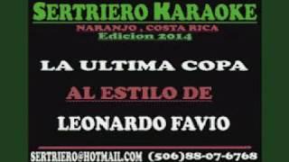 LA ULTIMA COPA LEONARDO FAVIO SERT