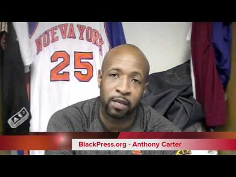 BlackPressRadio - Knicks player ANTHONY CARTER speaks exclusively