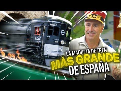 La maqueta de trenes más grande de España