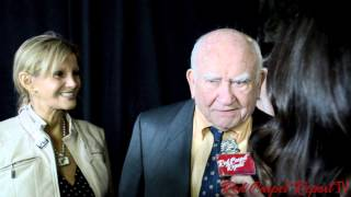 Ed Asner at the Make-Up Artists and Hair Stylists Guild Awards #MUAHSAwards