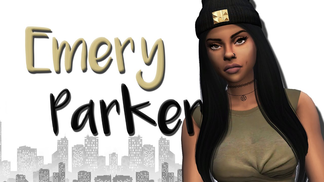 Sims 4 Emery Parker CAS YouTube