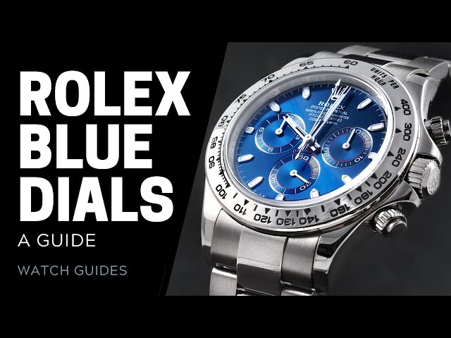 Rolex Blue Dial Watches Guide | SwissWatchExpo