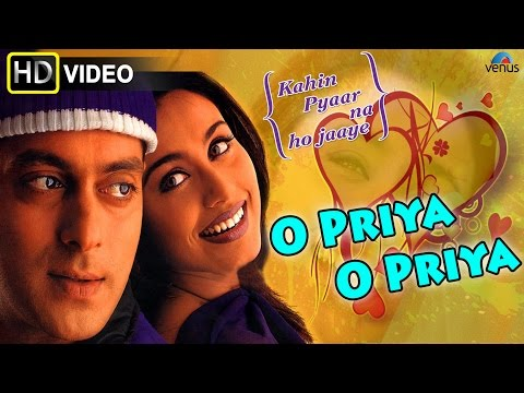 O Priya O Priya (HD) Full Video Song | Kahin Pyaar Na Ho Jaaye | Salman Khan, Raveena Tandon |