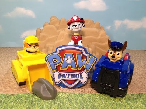 PAW PATROL Nickelodeon Chase & Ruble Racers a Nick Jr Paw Patrol Toy
