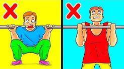 Nur 10 Übungen, die Männer brauchen, um Muskeln aufzubauen