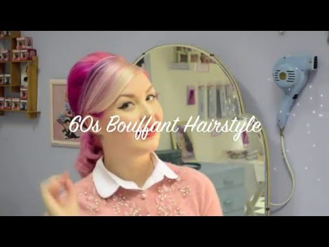 60s Inspired Bouffant Hair Tutorial - With Three Ways To Wear | Diablo Rose