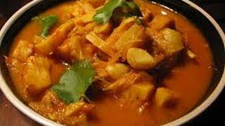 Kathal ki Rasili sabji OR Raw Jackfruit Curry recipe
