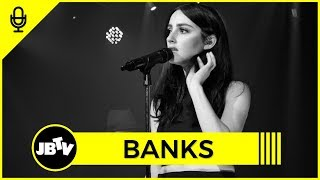 BANKS - The Weight of Music | Interview @ JBTV