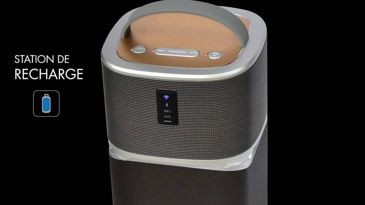 Enceinte Bluetooth 2 En 1 I Two De La Marque Dual