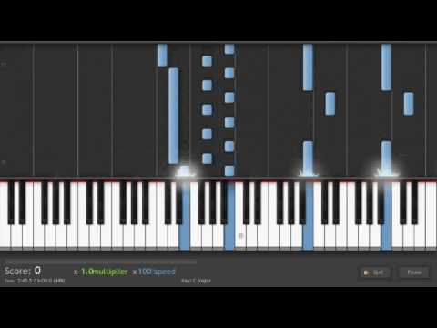 "Philip Glass - ""Metamorphosis One"" on Synthesia"