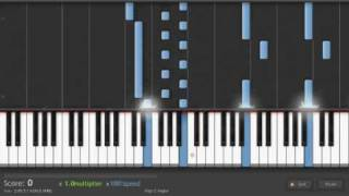 """Philip Glass - """"Metamorphosis One"""" on Synthesia"""