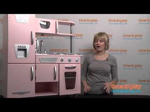 Vintage Kitchen in Pink from KidKraft  YouTube