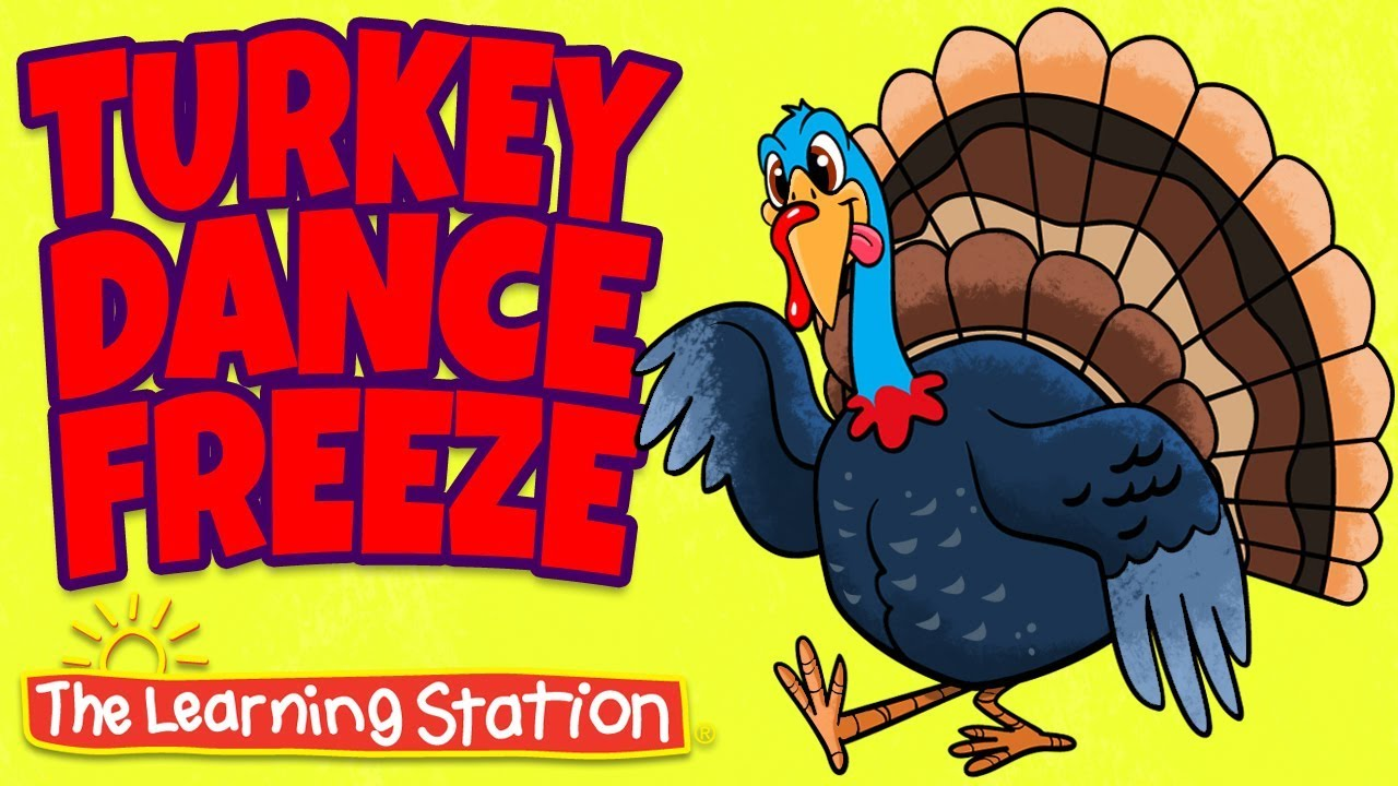 e8dd7dcb56 Thanksgiving Songs for Children - Turkey Dance Freeze - Turkey Kids Songs  by The Learning Station
