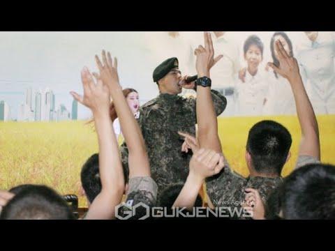 180627 TAEYANG - 2018 Korea Memorial Month, Army 5th Artillery Brigade Morale-Boosting Concert