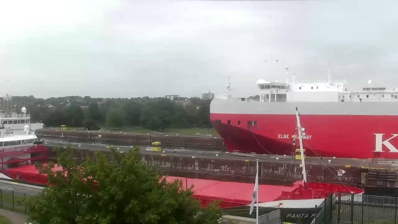 Webcam Kiel Schleuse