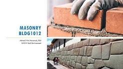 Construction Materials - Masonry