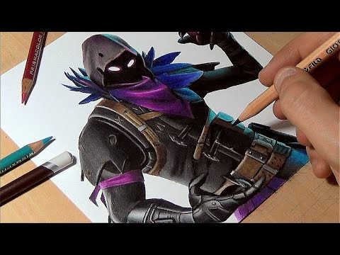 fortnite how to draw raven