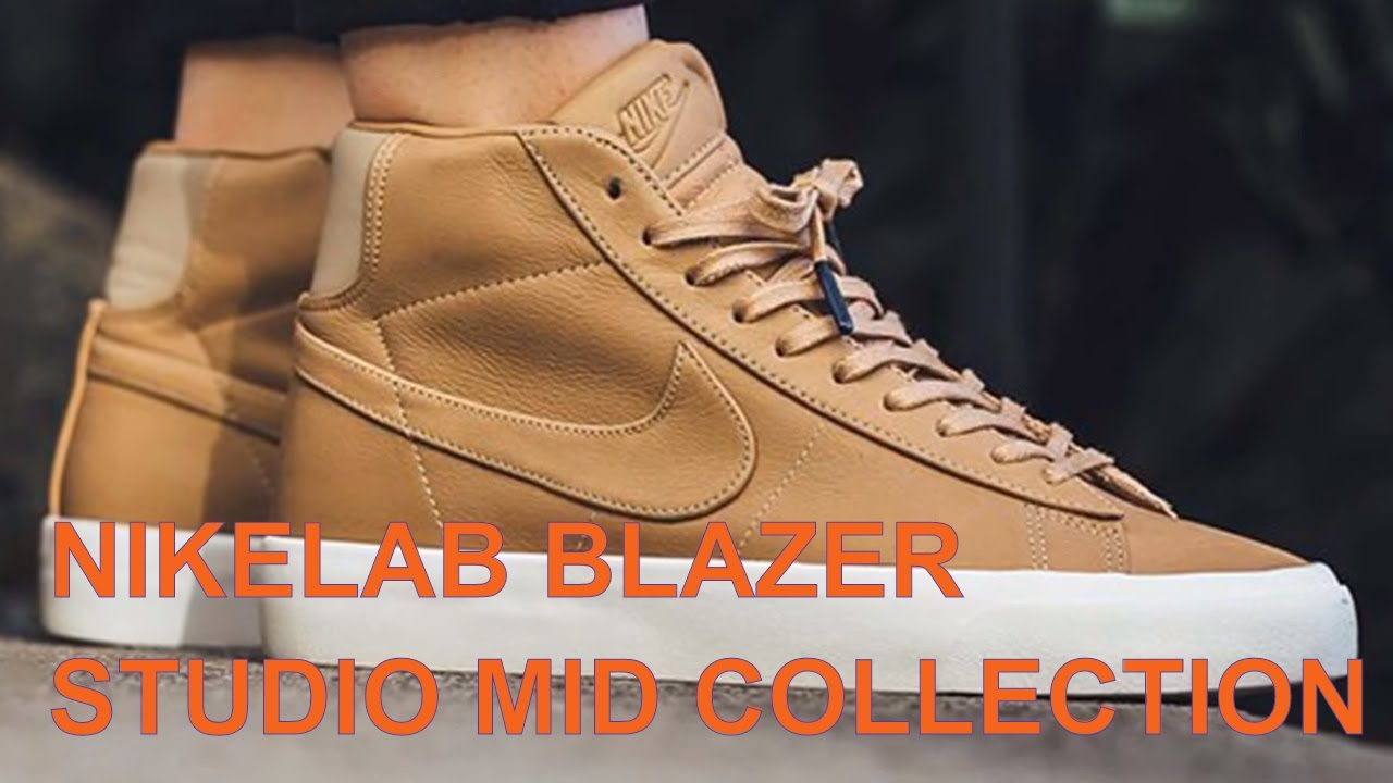 premium selection 374ef 7a520 NIKELAB BLAZER STUDIO MID COLLECTION