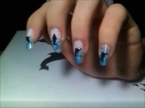 Delfines En El Mar Uñas Youtube