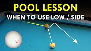 Pool Lesson | When To Use Spin And Draw