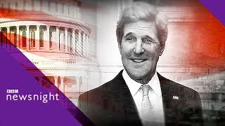 "John Kerry on Trump: ""The worst President in American history"" - BBC Newsnight"