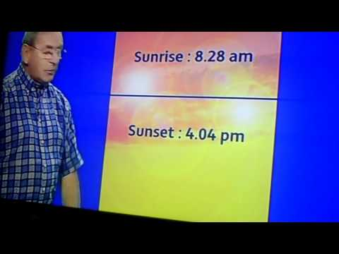 CLIP0003  ITV WEATHER WITH FRED TALBOT  3rd JAN  2011