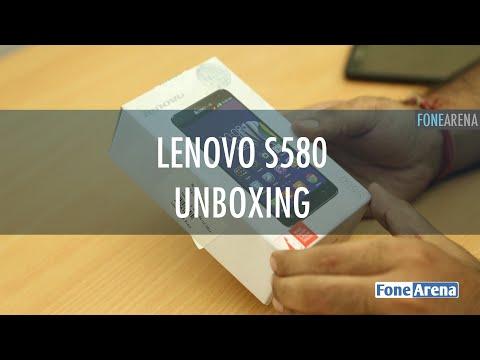 Lenovo S580 Unboxing