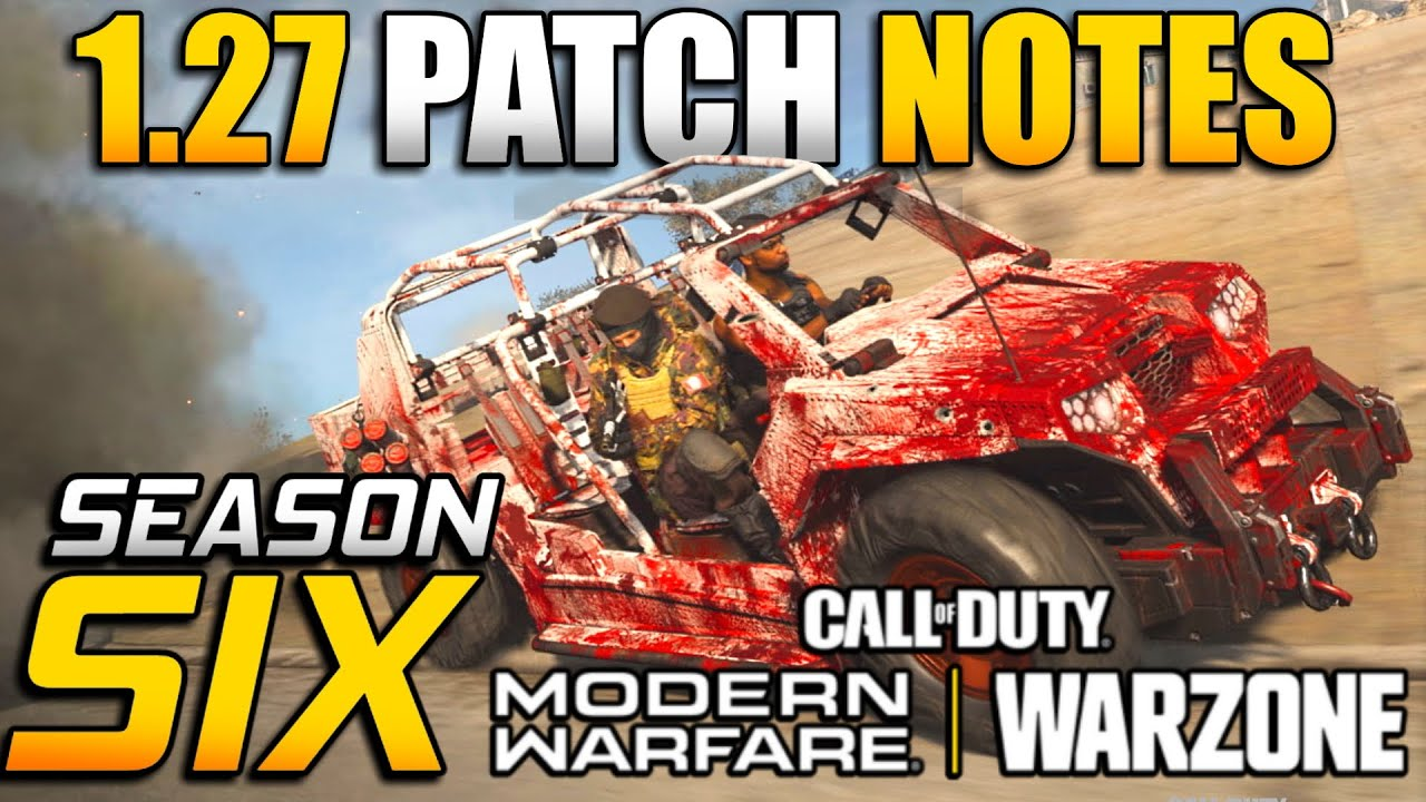 Call of Duty: Warzone season 6 patch notes: Map changes, new ...
