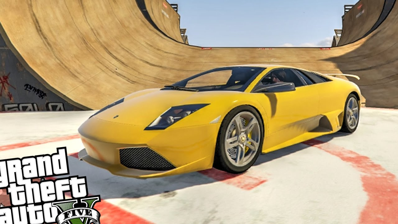 Lamborghini Murcielago Lp 640 Gta 5 Pc Crash Testing Youtube