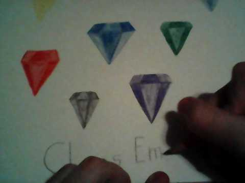 There's 7 Chaos Emerald on the paper I just drew