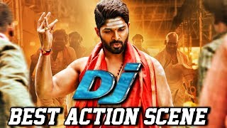 DJ (Duvvada Jagannadham) New Best Action Scene | South Indian Hindi Dubbed Best Action Scenes