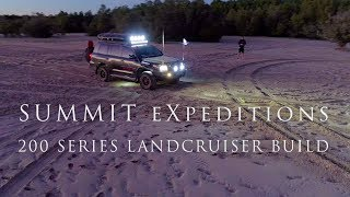 EP1 SUMMIT eXpeditions: 200 Series Landcruiser build - ROCKYROAD Expedition Vehicle
